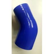 "Elbow hose reducer 2.5""-3"" 63mm-76mm 45°"